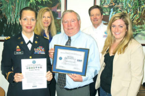 Employer Support of the Guard and Reserve ESGR Patriot Award
