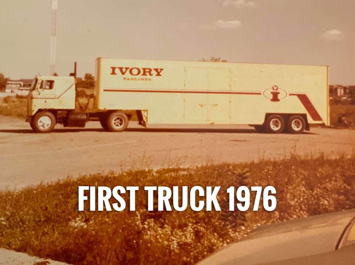 Bobs first truck April 1976 1