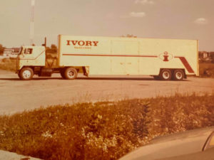 Bobs first truck April 1976