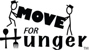 move for hunger logo black