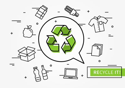 Recyle graphical presentation