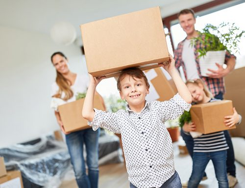 Moving with Children, from Infants to Teenagers